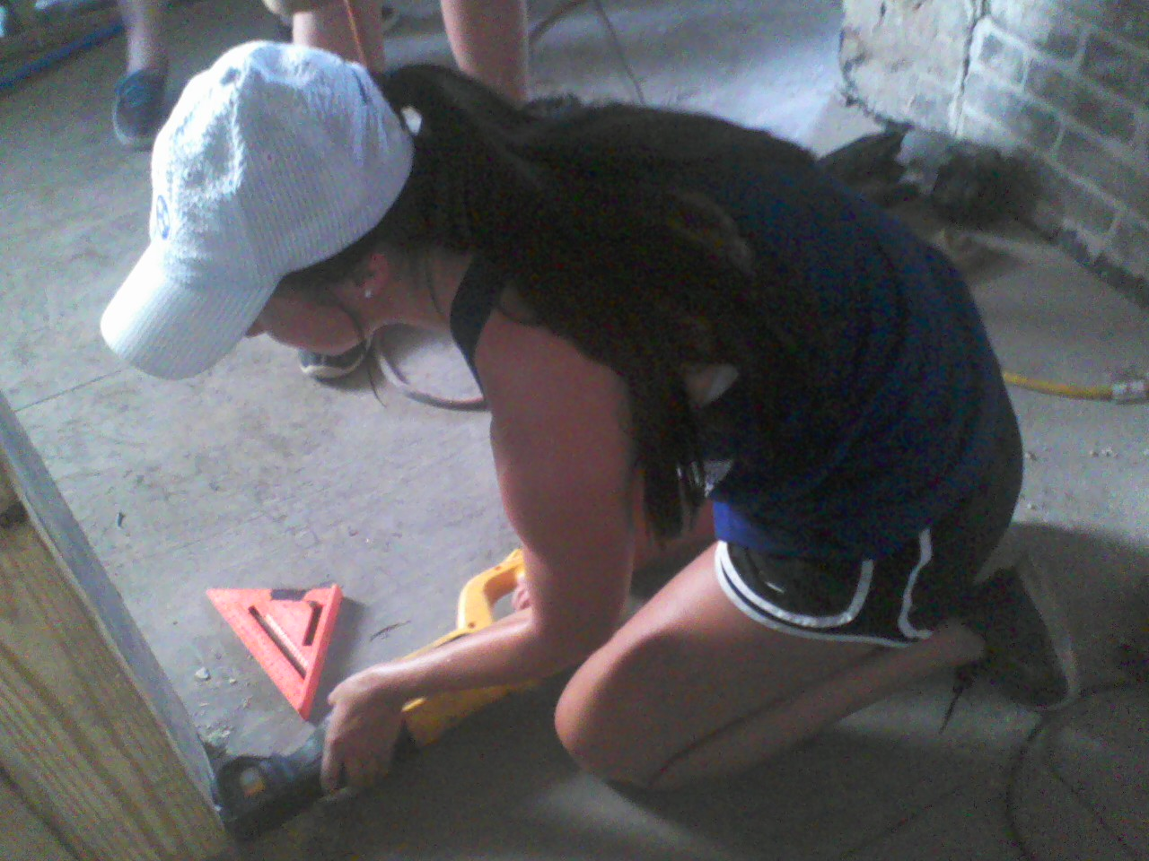 Power tool fun.