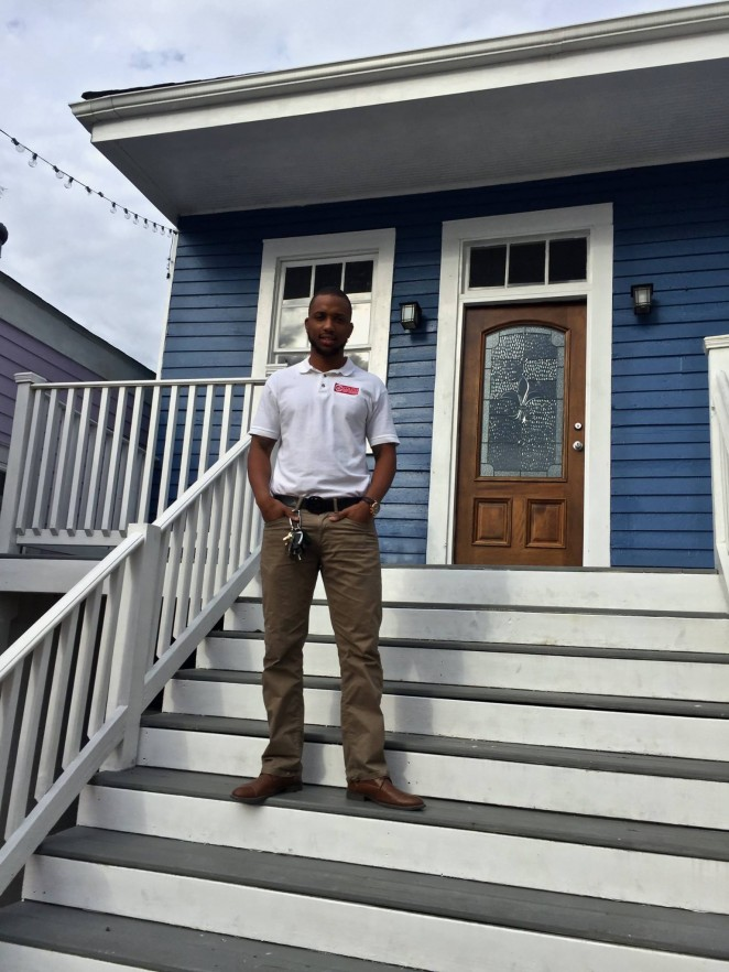 Prince at the Blue House on St. Ann